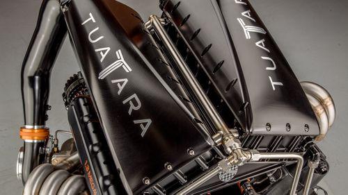 The Tuatara is powered by a 6.0-litre twin-turbocharged V8 engine.
