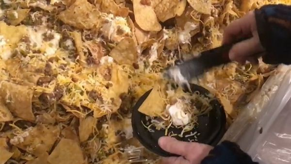 Mega Nachos break record in US city