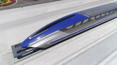 CHINA MAGLEV TRAIN PROTOTYPE