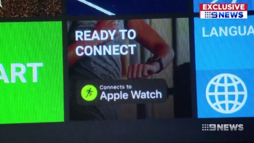 GymKit operates through the Apple Watch. (9NEWS)