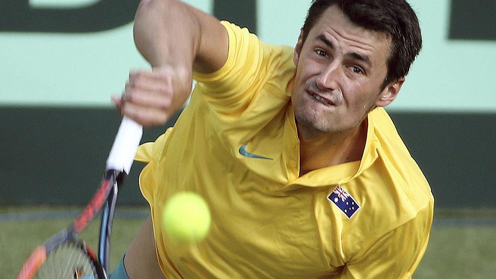 Tennis: John Millman laughs off Bernard Tomic's Davis Cup claim