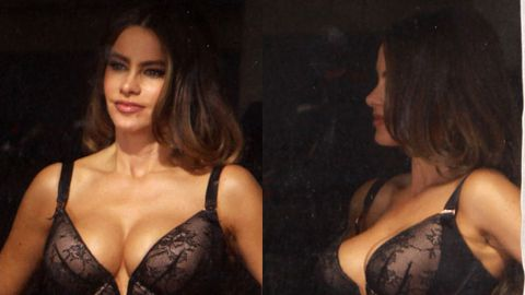 Bra-vo! Sofia Vergara dresses as bisexual prostitute