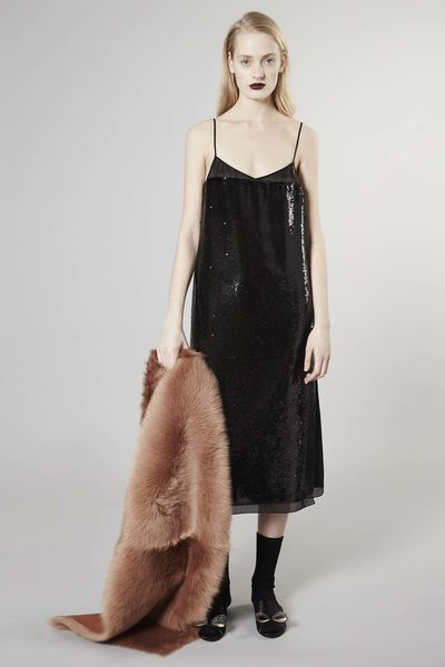 4. An elevated slip dress.