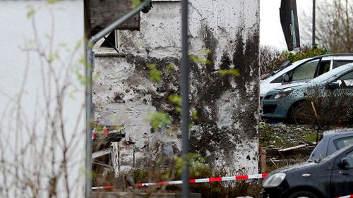German man blows himself up outside family house after argument