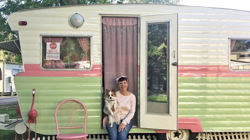 Lisa packed up her life to become a grey nomad in May last year.
