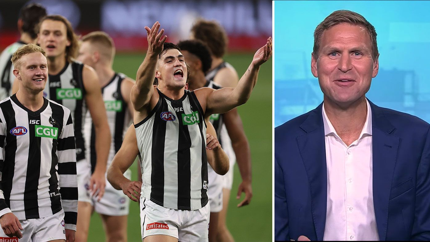 Kane Cornes whacks 'cocky' Magpies fans during apology