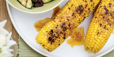 Corn with smoked paprika butter