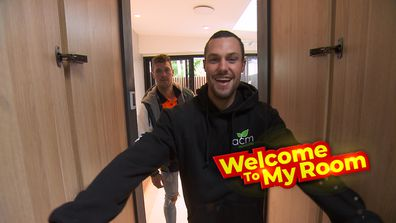 Welcome To My Room: Josh and Luke talk through their 'one-off' master ensuite