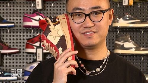 Sneaker value explodes as Melbourne launches authentication program to tackle fakes