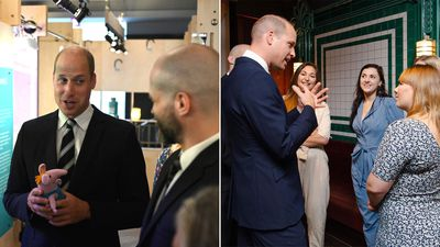 Prince William visits the BAFTA's, September 2019