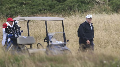 News World Donald Trump Commander in Cheat golf Rick Reilly