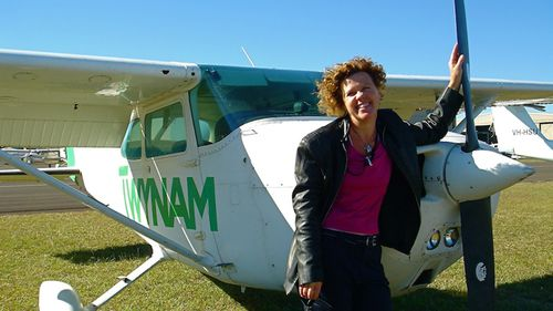 Catherine Fitzsimons, 55,  is the chief flying instructor with WardAir Flight Training in Bathurst.