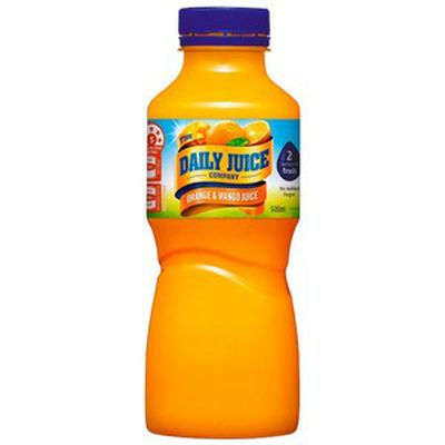 <strong>500ml Daily Juice Five Fruits (45.5 grams of sugar)</strong>