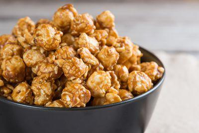 <strong>Swap caramel popcorn (154 calories)...</strong>