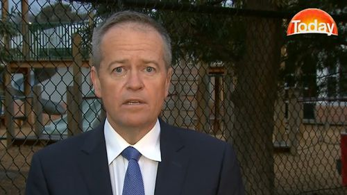 Labor Leader Bill Shorten has been in touch with Mr Turnbull on a number of occasions since the August leadership spill.