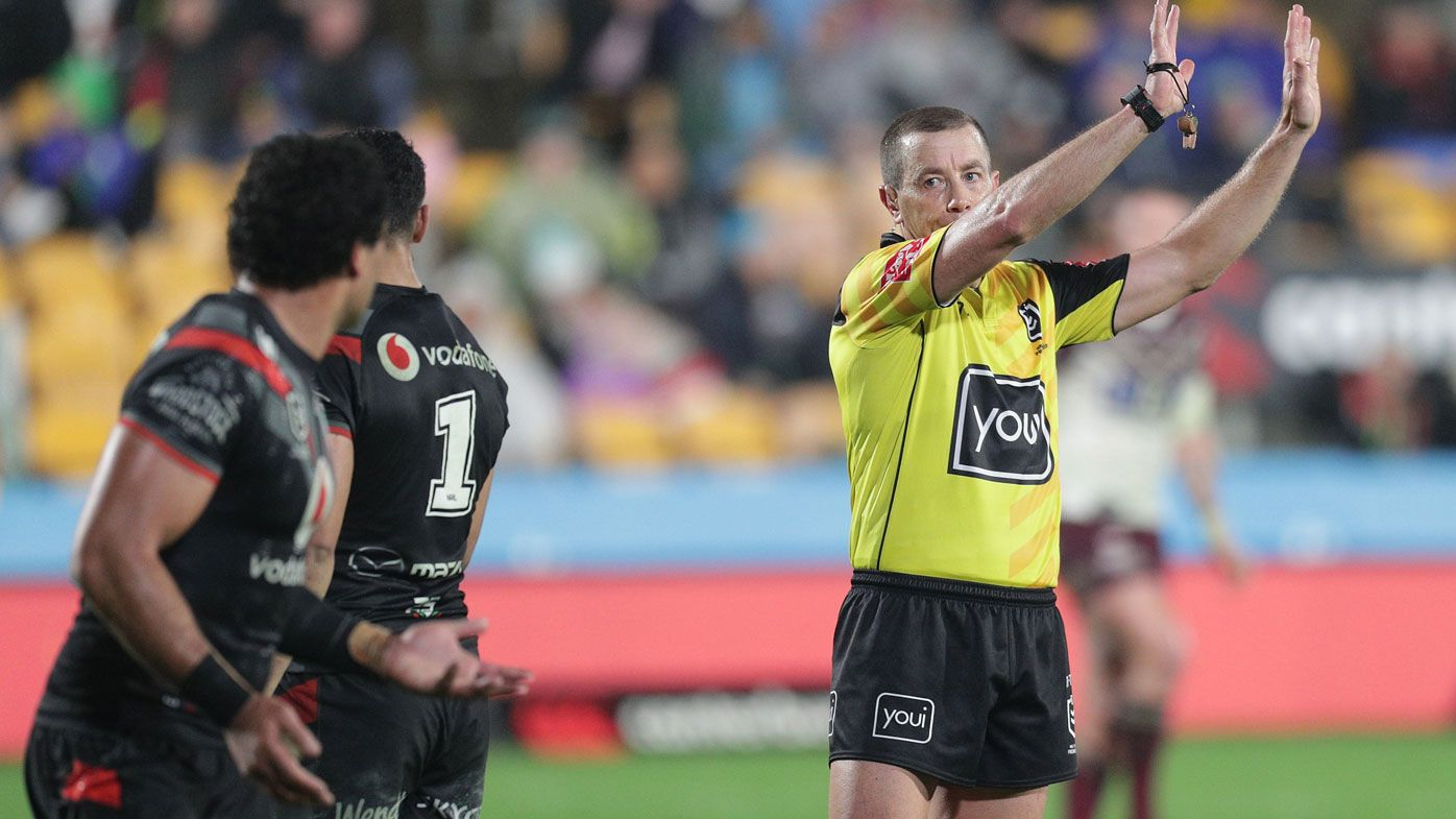 NRL: Referees back in sights of angry Warriors after Manly upset
