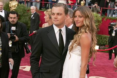 Leo's had his fair share of model arm candy to walk him down the carpet (there's no denying <i>that</i>) but ex girlfriend Gisele was the only one to ever make the Oscar cut. The couple dated for five years, but broke up later that year. Let's be honest, we're all still mourning this, aren't we?