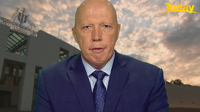 Dutton claimed the Labor Party wants the vaccine program 'to fall over'.