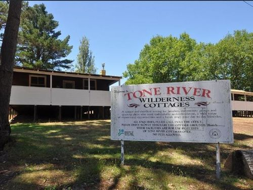 After closing as a timber mill town in 1952, the space was used as a wilderness camp for three decades.