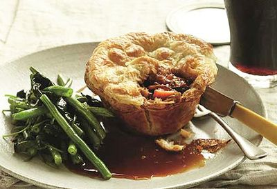 Guinness and steak pie
