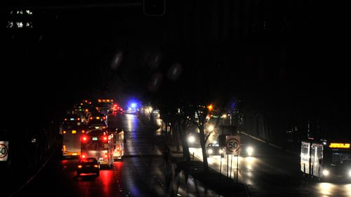 Adelaide drivers and pedestrians were left in darkness during the blackout last September. (AAP file image)