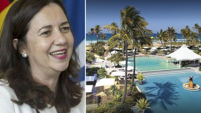 Queensland government insists 5-star hotel stay was for 'security'