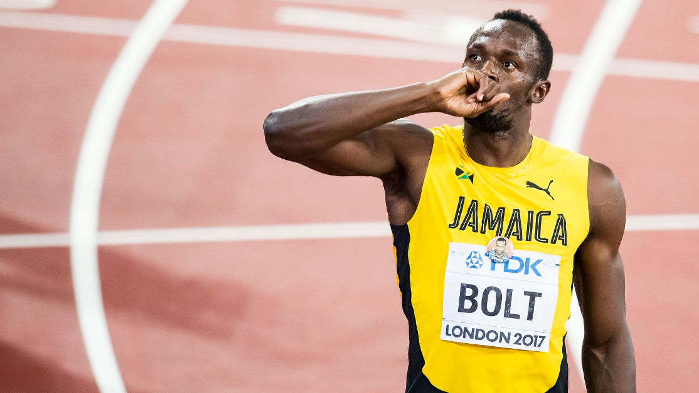 Usain Bolt signs on for UK charity soccer game