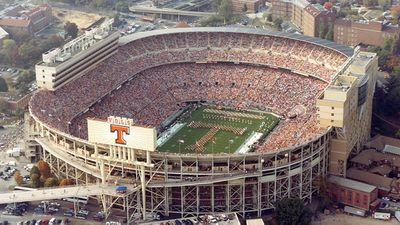 Neyland Stadium. Tennessee