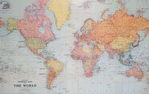 New Zealand appears twice in world map, delighting Kiwis