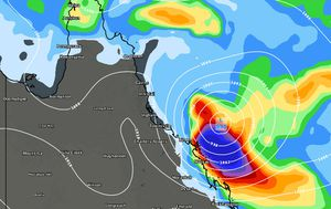 Reformed Cyclone Iris bringing more misery to sodden towns