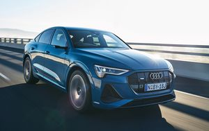 Audi gets into the electric vehicle game with the new e-tron range