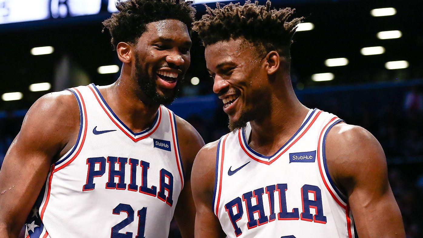 best service 5cb1c 642e2 NBA: Jimmy Butler buzzer-beater gives Philadelphia 76ers ...