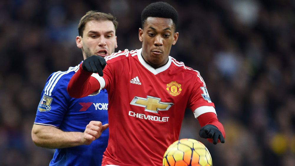 Anthony Martial. (AAP)