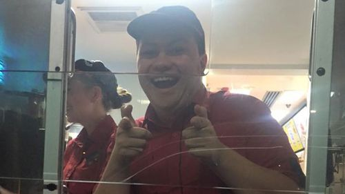 Broke Queensland mum has her faith restored after McDonald's worker pays for her children's dinner