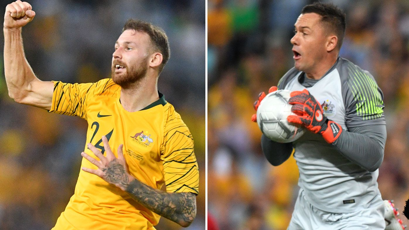 'Gutted': Injuries rock Socceroos stars Danny Vukovic and Martin Boyle