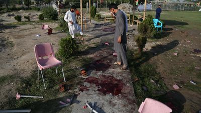 Eleven killed in bomb attacks at Afghan cricket match