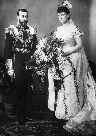 Queen Mary, married 1893