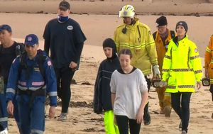 Family rescued after night in bush following Father's Day beach walk on NSW Central Coast
