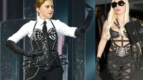 Get over it! Madonna bags Gaga (again) for copying her on 'Born This Way'