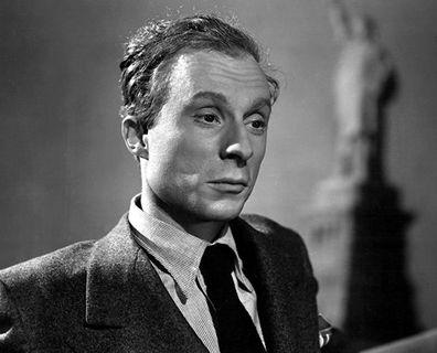 Norman Lloyd in Saboteur.