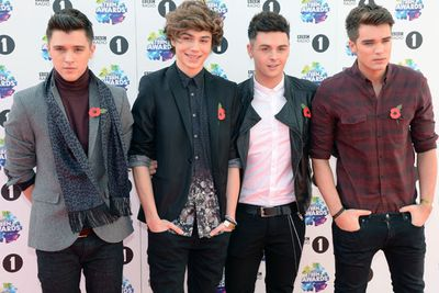 Boy band Union J picked up the Best British Breakthrough Award!