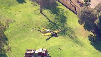 Actor Harrison Ford has suffered serious injuries after being forced to crash land in Los Angeles. <br><br>Click through the gallery to see how the accident unfolded.
