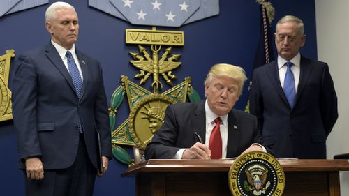 Trump orders 'vetting measures' to keep 'radical Islamic terrorists' out of the US
