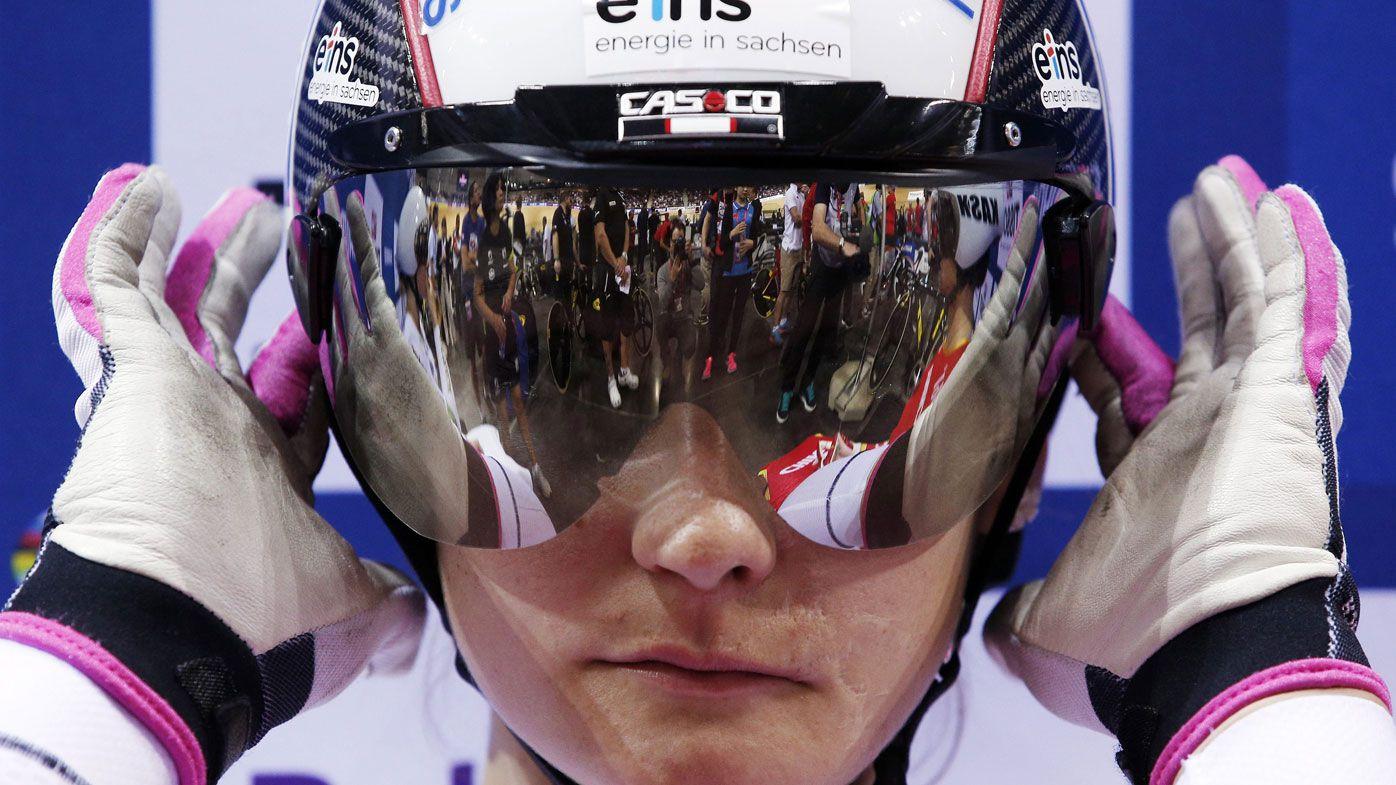 Olympic cycling champ Vogel paraplegic
