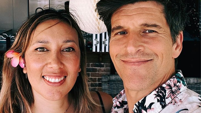 Osher Günsberg met his wife Audrey Griffen when she was working as a makeup artist on Season 2 of The Bachelor. The pair married in 2016.