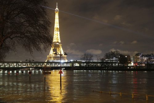 Paris was voted as the city having the most sex - but also, not surprisingly, Parisians are most sleep-deprived. (File)