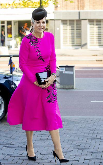 Queen Maxima in Utrecht, Netherlands, April 2019.