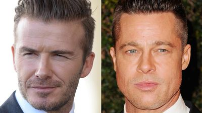 <p>For men, the oval-shaped faces of David Beckham and Brad Pitt are the most attractive. </p><p> </p>