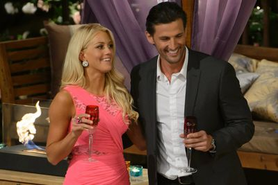 Case in point: On <i>The Bachelor Australia</i>, poor Ali couldn't stop telling Tim how in love with him she was. It was sweet at first but Tim had enough of the L word and dumped her, shocking fans who thought she'd definitely make the final two.<br/><br/>Image: Network Ten