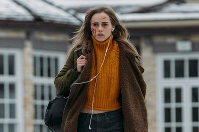Suki Waterhouse plays private school student Camille Meadows in Seance.
